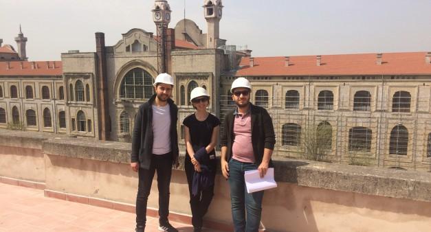 Haydarpaşa Binası Restorasyon Çalışmaları Ziyareti